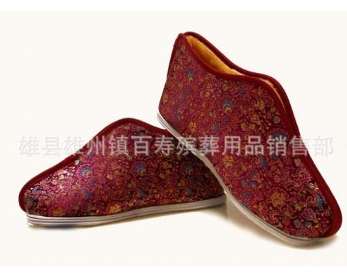 高档老北京寿鞋