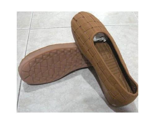 台湾芭黎编织居士鞋(土黄、咖啡、灰色)