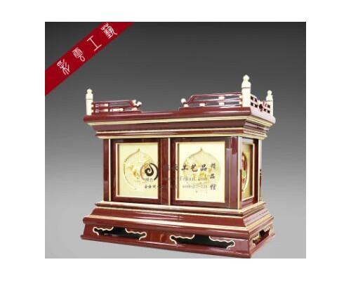 彩云佛柜供桌 神柜高档木质 工艺品供桌  古典箱型供桌