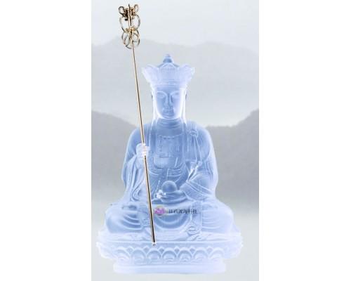 江西渡海琉璃地藏王菩萨佛像佛堂摆件佛像工艺品