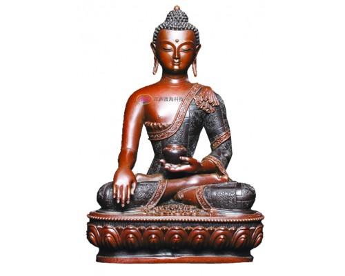 江西渡海释迦牟尼佛铜像佛佛像佛堂摆件佛像工艺品