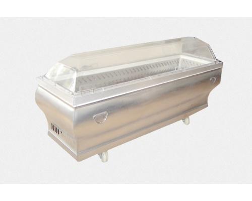 中式不锈钢制冷水晶棺 长×宽×高 2050×700×1040