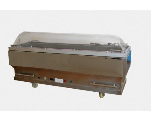 西式镜面不锈钢制冷水晶棺长×宽×高2040×680×1040