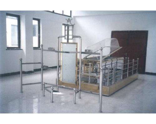 全不锈钢中型告别台(一台阶)长×宽3200×1900(mm)