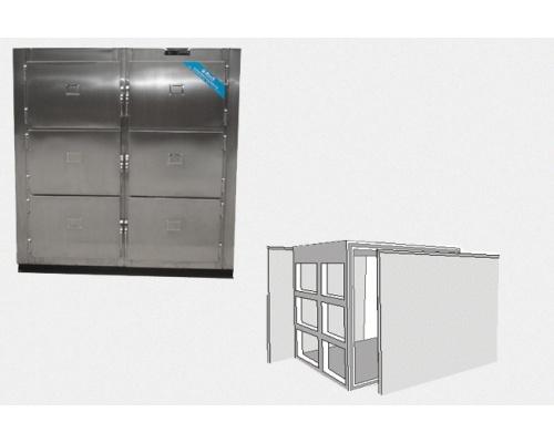 全发泡无霜型ST6俱太平柜长宽高3570×1800×1850