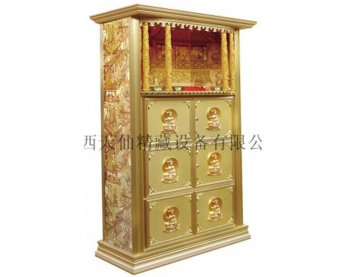 寺庙家族式佛龛架技术