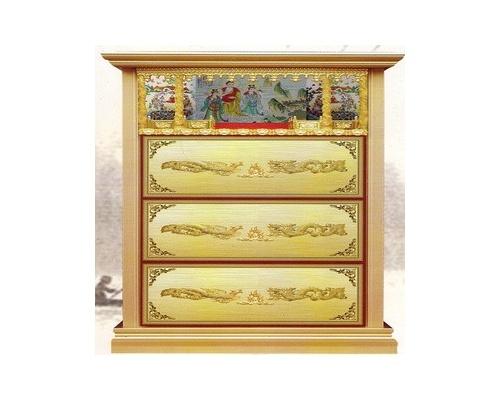 三层家族式骨灰盒存放架标准