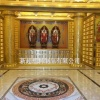 寺庙骨灰盒龛位_寺庙骨灰龛架智能技术设计装修