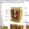 骨灰盒存放架组合式框架结构镀锌板和铝合金箱体特性产品介绍