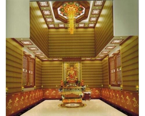 寺庙佛教万佛墙系列