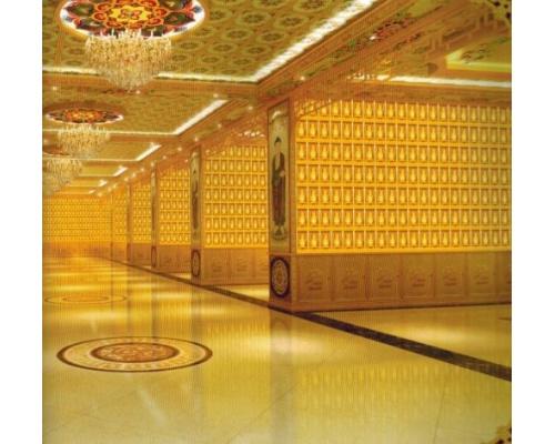 寺院佛教智能万佛架/万佛墙效果案例图