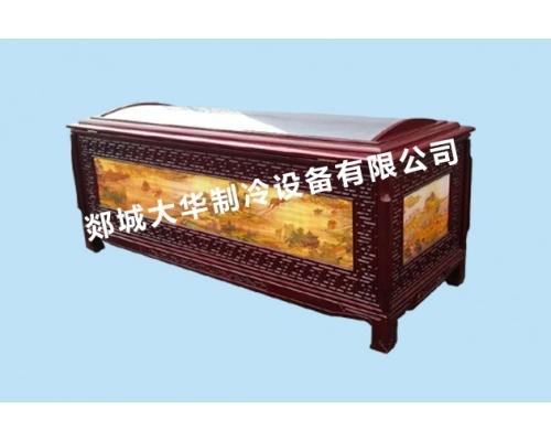 E型实木水晶棺/高档豪华水晶棺规格220*85*92(厘米)