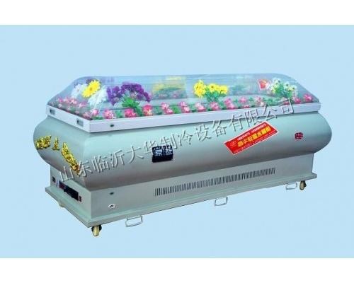 d型水晶棺/高档豪华水晶棺规格200*70*100(厘米)