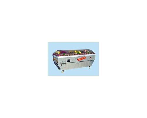 G型水晶棺/高档水晶柜规格200*70*100(厘米)