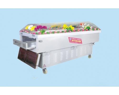 J型水晶棺/高档水晶柜规格200*70*100(厘米)