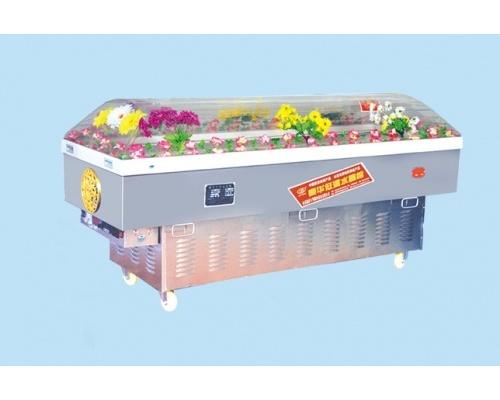 L型水晶棺/高档水晶柜规格200*70*100(厘米)