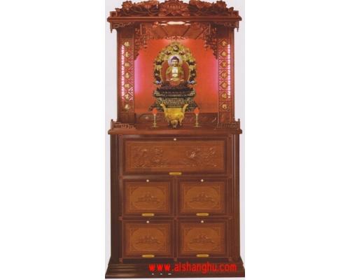铝木尊贵家族式骨灰盒骨灰柜