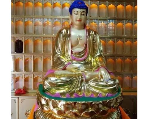 寺庙佛教牌位牌位架设计装修效果