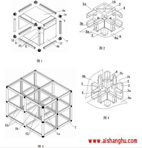 骨灰盒智能组合式骨灰存放架存放装置制作方法
