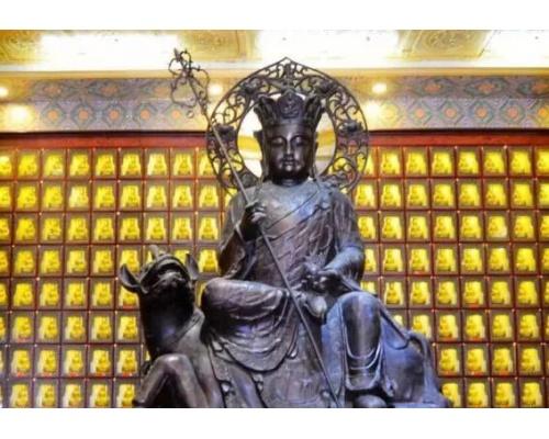 佛教万佛墙照片