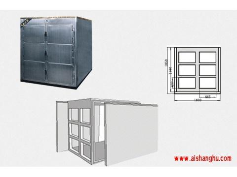 不锈钢水晶棺材冰棺尸体冷藏柜(太平柜)远程控制系统