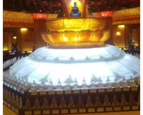 寺庙佛教万佛墙塔寺庙工程