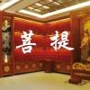 佛教寺庙组合一体式铝合金牌位架结构