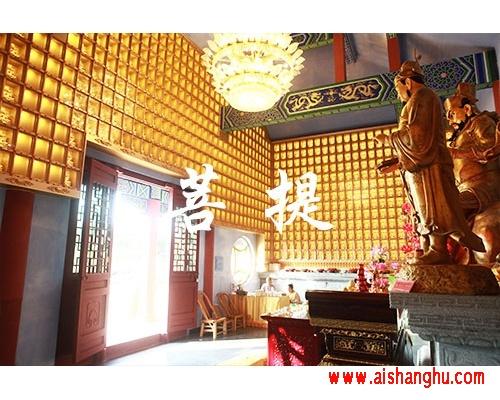 佛教寺庙智能万佛墙箱体结构设施工艺装饰图