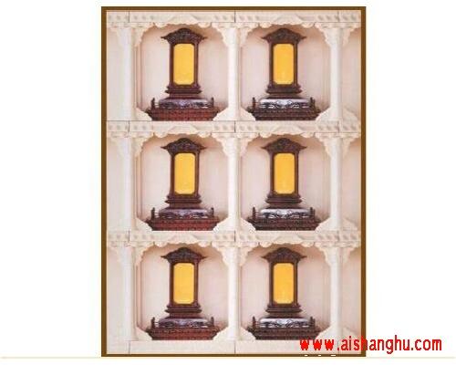 寺院牌位架 智能牌位楼可定制