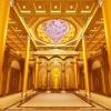 寺院寺庙佛堂佛像大殿设计效果案例图梵园