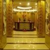 骨灰堂铝合金骨灰存放架安装设计效果案例图梵园