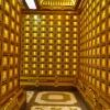 寺庙骨灰存放架制作设计效果案例图梵园