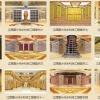 寺庙佛教骨灰盒寄存架工程案例图片江西国计纳米