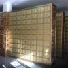 寺庙殡仪馆陵园骨灰寄存架案例尺寸可定制青岛金翅鸟殡葬用品