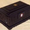 富贵盒(黄檀木骨灰盒)骨灰龛国人牌