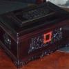 福寿盒(红酸枝骨灰盒)骨灰龛国人牌殡葬产品