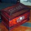 回归自然盒(红酸枝骨灰盒)骨灰龛国人牌殡葬产品