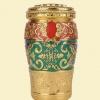 骨灰龛圆柱形(吉祥如意)18x18x33cm