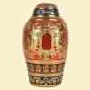青铜骨灰盒橄榄形(天使)规格16x16x30cm