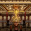 寺院佛堂骨灰楼存放柜设计案例效果卓尔牌