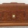 实木骨灰盒鸿业牌实木制品殡葬用品