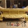 祠堂GZ-8 供台的样式尺寸祥源法器祭祀工艺品