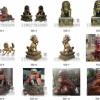 寺院佛堂铜狮子摆件可定制各种规格祥源法器