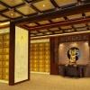 寺庙佛教纳骨堂骨灰存放楼骨灰架设计效果图