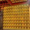 寺院佛教万佛墙装修设计图杭州丰登