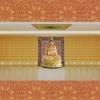 寺庙祠堂地宫牌位架装修设计实地照浙江天仙