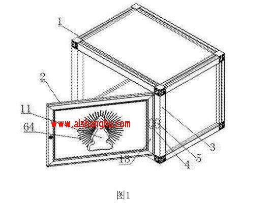 动感光式骨灰盒寄存架装置技术参数