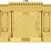 寺院单穴骨灰盒寄存架面板天寿宫设计效果图江西仙廷