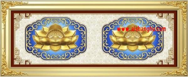 佛堂双穴骨灰寄存架面板外观设计图江西仙廷jxxtsx-02