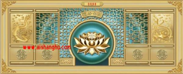 祠堂双穴骨灰盒寄存柜面板形状色彩图案江西仙廷sx-11